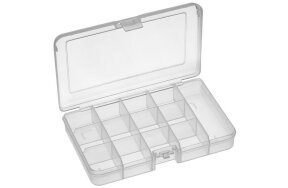 PLASTIC ASSORTMENT BOX 13 COMPARTMENTS